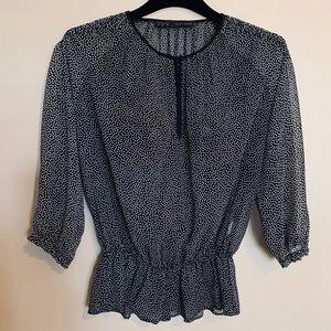Zara - classic, feminine women's blouse (Size S)